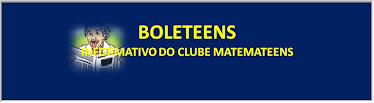 BOLETEENS - Informativo do Clube Matemateens