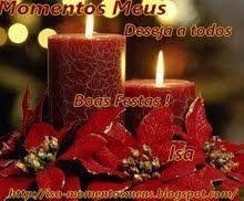 BOAS FESTAS-MOMENTOS MEUS