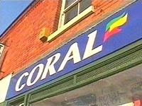 A typical Coral's bookmakers shop