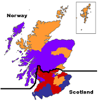The real map of Scotland showing Labour's strength