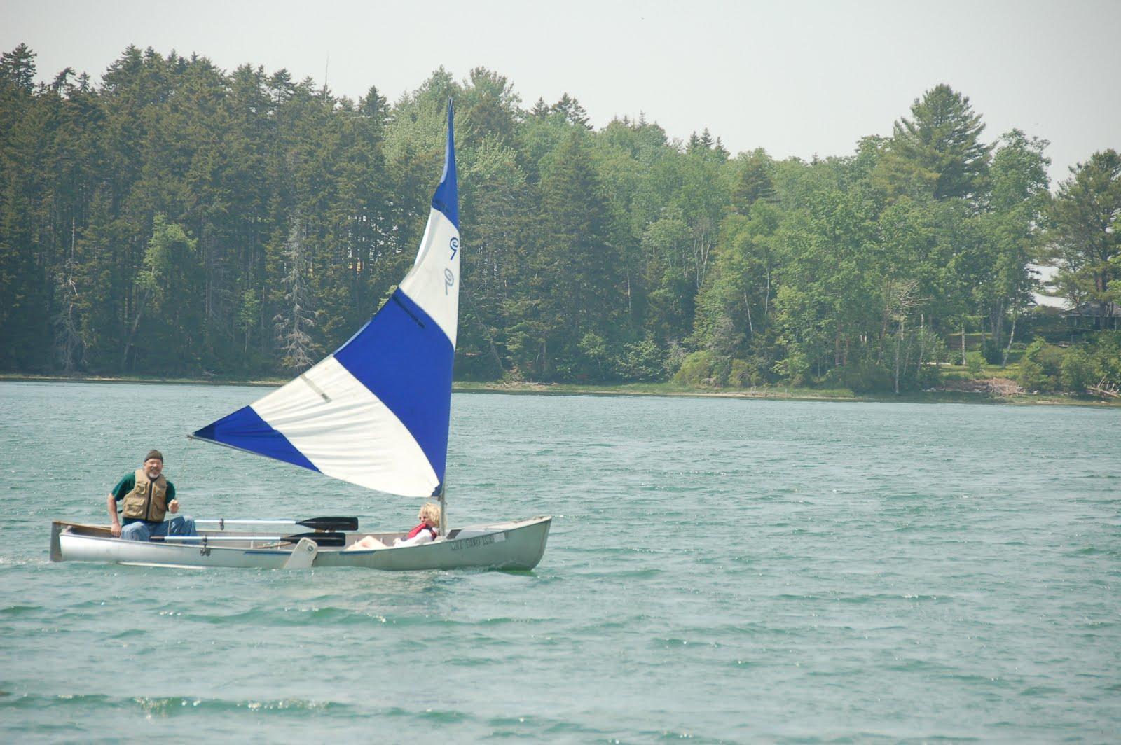 SEABGB Interesting Boats Grumman Sport Boat Under Sail