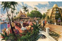 Epcot Original Artwork