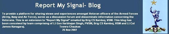 Report My Signal- Blog