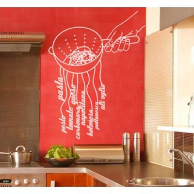 Adesivos de Parede para Cozinha – Fotos e Modelos