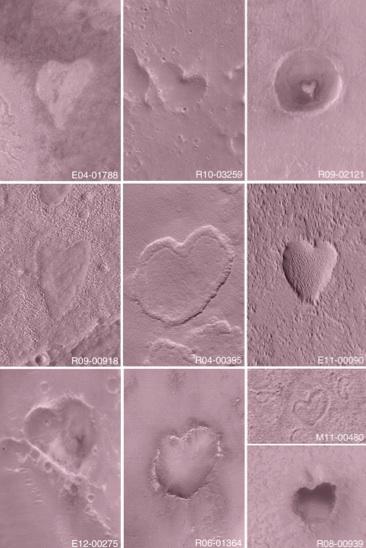 UNE SAINT VALENTIN SUR MARS