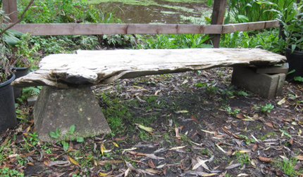Garden Bench Ideas Root Simple