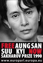 LIBERDADE PARA AUNG SAN SUU KYI