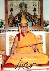 Sa Sainteté le XIVème Dalaï Lama