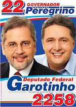 Peregrino e Garotinho: união pelo Rio