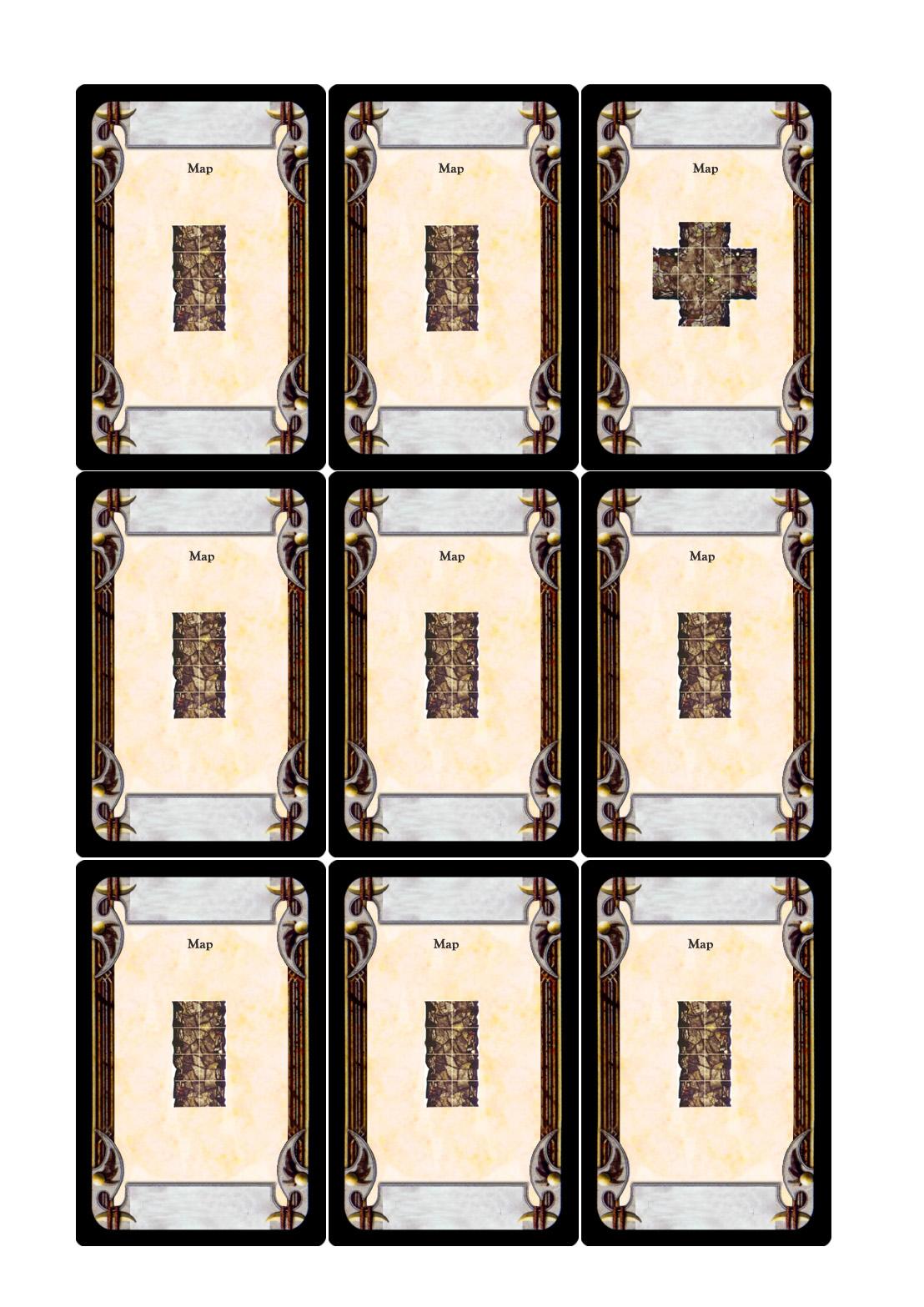 This is an image of Comprehensive Printable Sabacc Deck