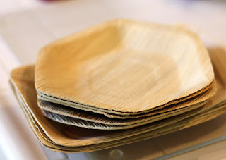 The plates are made from freshly fallen naturally discarded sheaths of the leaves of the Adaka palm tree (so they can be thrown away or composted after ... & Putting Palm Leaf Plates to the Test - La Fuji Mama u2014 La Fuji Mama