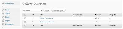 album foto 6 Membuat Album Foto pada Wordpress CMS dengan Plugin NextGEN Gallery