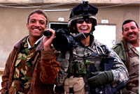 Linsay Rousseau Burnett, Sgt. U.S. Army; Spent one year as an Army journalist in Iraq. Photo: Linsay Rousseau Burnett