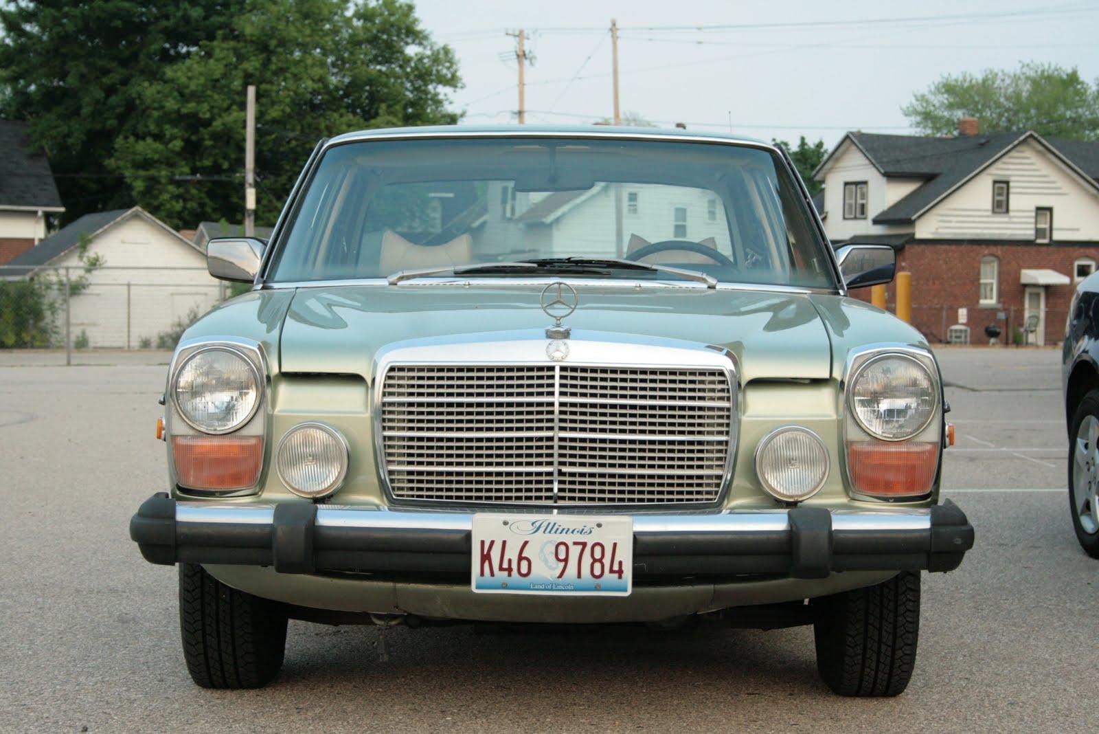 Mundis blog: Mercedes benz 280ce w123 radio