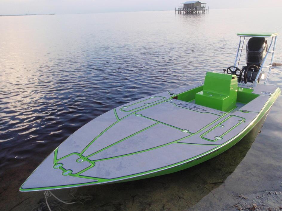Sleekcraft Allison Flatsboat With Seadek Seadek Marine
