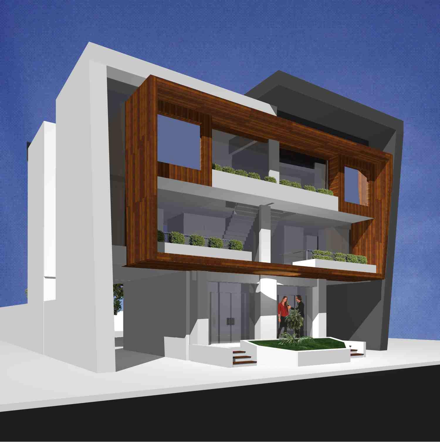 Auben estudio de arquitectura y constructora edificio - Estudio de arquitectos ...
