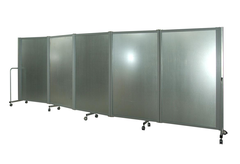 Pareti divisorie mobili parete manovrabile autostabile for Divisori mobili per ufficio