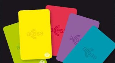 accesskort sl färger