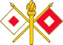 Crossed Flags Insignia