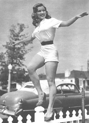 The ever-delightful Debra Paget.