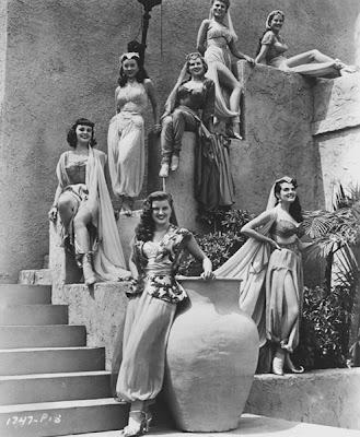 From the film Yankee Pasha.