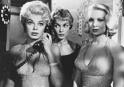 Barbara Nichols, Janet Leigh, and Joi Lansing.