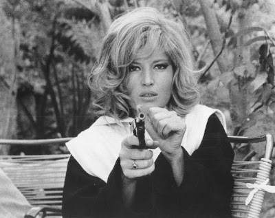 Monica Vitti as Modesty Blaise.