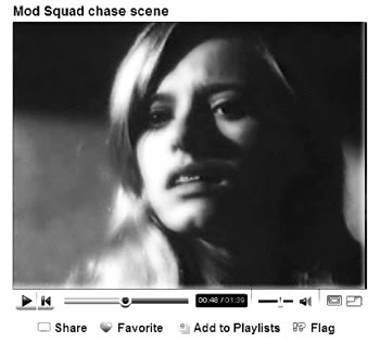 There's a tiny Mod Squad scene of Brooke Bundy on YouTube.