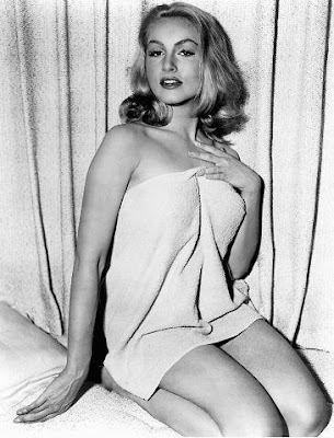 Julie Newmar, looking warm and snuggly.