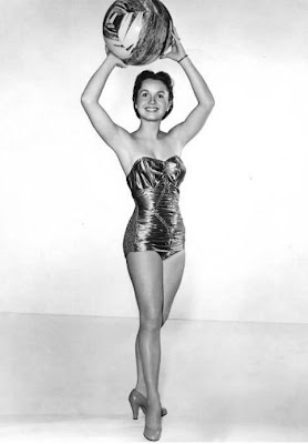 Good sport Debbie Reynolds.