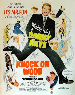 Knock on Wood movie poster