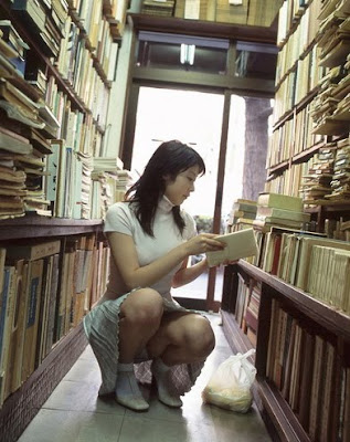 hot chicks with books