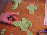 playdough crosses