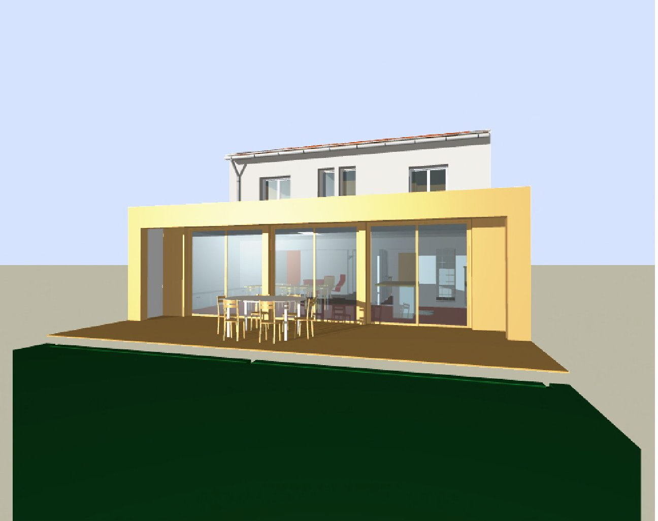 Extension imprimante 3d devis travaux immediat boussy for Agrandissement maison autorisation