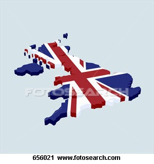 british flag shape