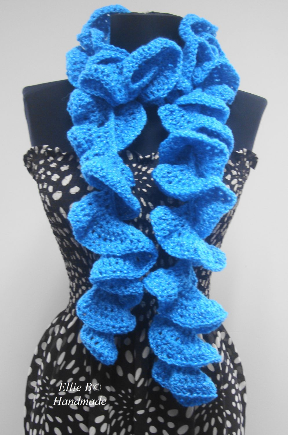 SPIRAL CROCHET SCARF How To Crochet