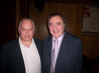 Con Marcelo Araujo (Canal 7)