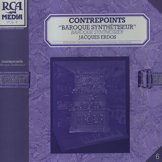 [RCA] - RCM 6 - Jacques Erdos - Contrepoints 'Baroque Synthtiseur' (1982)