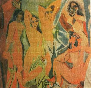 Abstraksionisme merupakan aliran dalam seni rupa yang ...