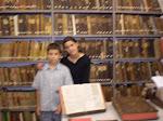 Visita à Biblioteca pública de Chaves