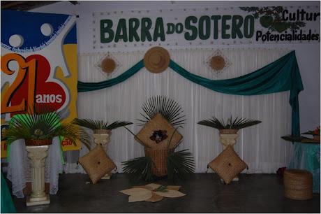 ARTESANATO DO DISTRITO  BARRA DO SOTERO