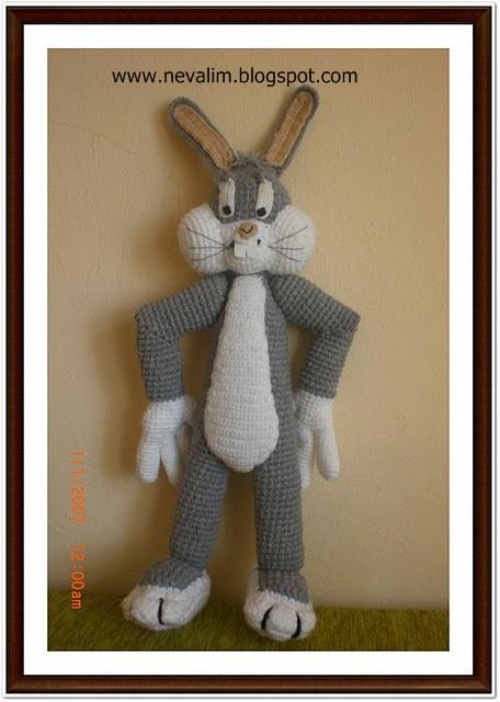 Amigurumi Bugs Bunny Yapilisi : HAYATIMIN ?c?NDEN.....: amigurumi bugs bunny