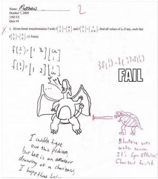 funny exam answers. Funny Exam Answers 1