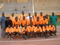 Les 18 joueurs de la Fiche de Match de la Final du Championnat de D2 face à Racing de Boukoki