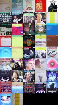 Karlheinz Stockhausen - LP Cover