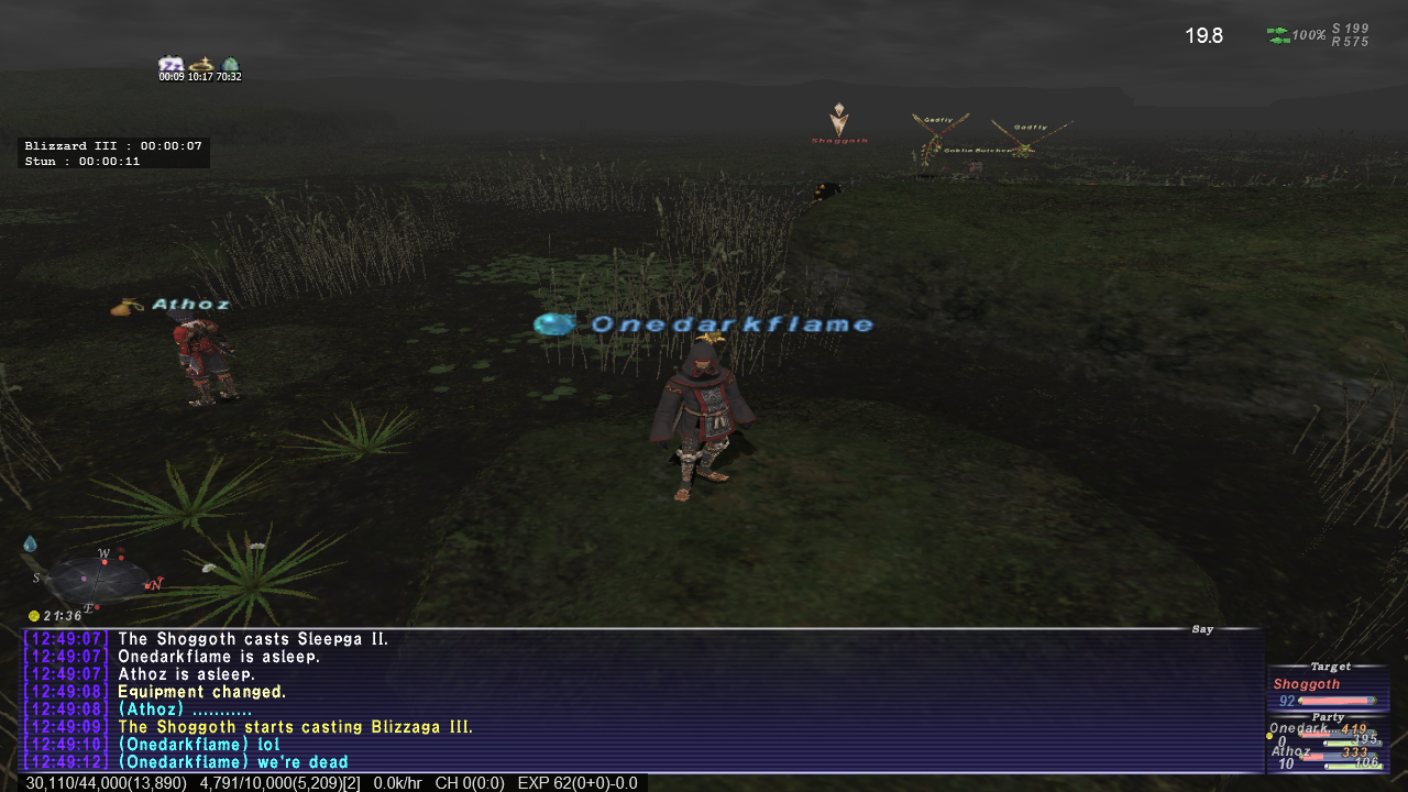 Onedarkflame S Ffxi Blog 6man Sarameya What