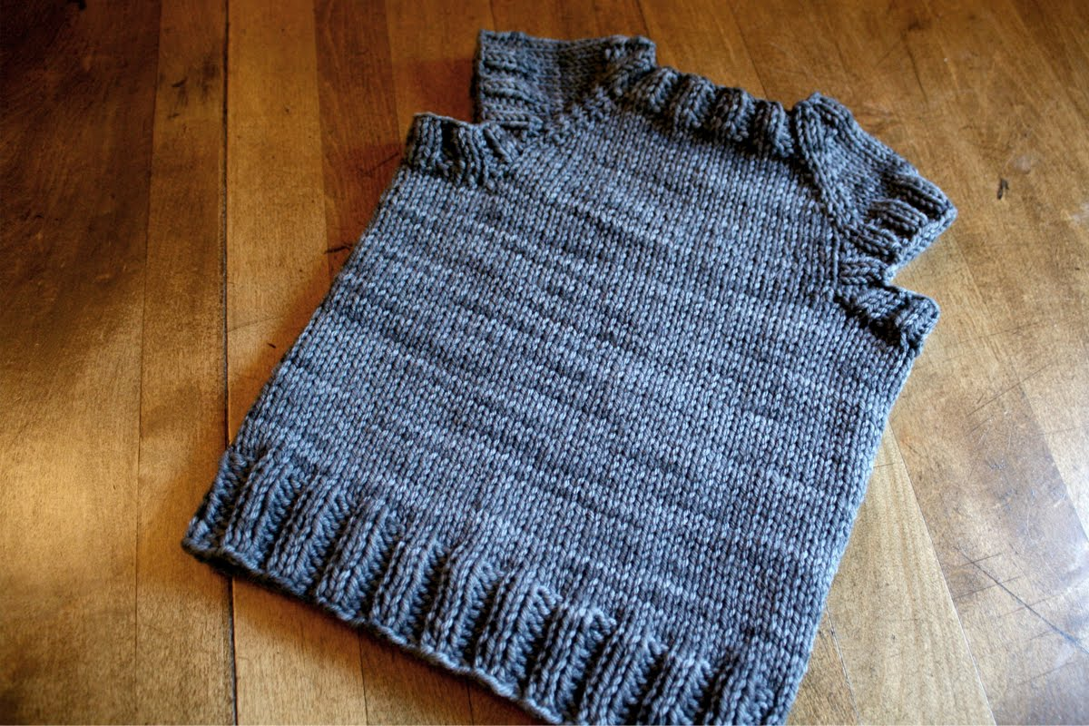 Knitting Patterns Free Childrens Vests : sam lamb: toddler t-shirt vest