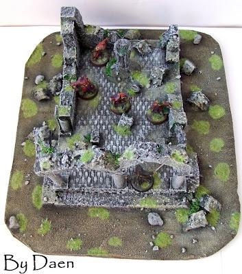 ruiny świątyni lotr warhammer