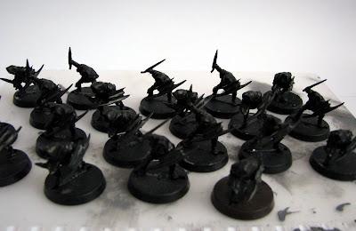 figurki władca pierścieni goblin