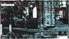 Gambar  Contoh Relief Displacement